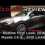2016 Mazda CX-9 – Redline: First Look – 2015 Los Angeles Auto Show