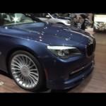 2010 Chicago: 2011 BMW Alpina B7
