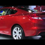 2012 Honda Civic lineup at the 2011 New York Auto Show