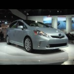 2012 Toyota Prius V at the 2011 Detroit Auto Show | N.A.I.A.S