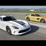 2013 SRT Viper vs 2014 Mercedes-Benz SLS AMG Black Series! – Head 2 Head Ep. 36