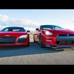 2014 Nissan GT-R Track Pack vs 2014 Audi R8 V-10 Plus! – Head 2 Head Episode 33