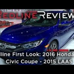 2016 Honda Civic Coupe – Redline: First Look – 2015 Los Angeles Auto Show
