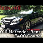 2016 Mercedes-Benz E400 Coupe – Redline: Review