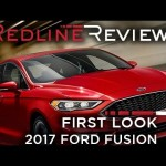 2017 Ford Fusion – Redline: First Look – 2016 Detroit Auto Show