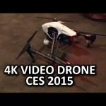 Badass Camera Drone DJI Inspire 1 – CES 2015