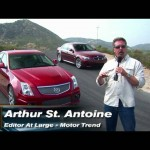 Cadillac CTS-V vs BMW M5  Road Course Battle