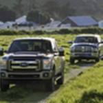 Diesel-Powered Throwdown! 2011 Ford Super Duty vs 2010 Ram HD