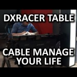 DXRacer Gaming Table Prototype – CES 2015