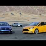 Ford Focus ST vs Volkswagen Golf R (or Subaru BRZ)! – Head 2 Head Episode 23