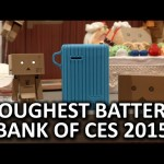 Google Ingress Charger and Waterproof Battery Bank – Cheero Booth – CES 2015