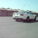 Hasan Kutbi Testing Ford Mustang V8 412HP 2011 (3)