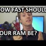 High Speed RAM – Is it Worth it? DDR3 1333MHz vs 2400MHz Test