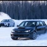 Ice Bowl! – EVO Vs STI Snow Challenge