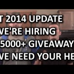 Linus Tech Tips Update 2014 – Over $5000 of Giveaways and We're Hiring!