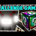 Minecraft: SPIDER TITAN CHALLENGE GAMES – Lucky Block Mod – Modded Mini-Game