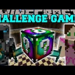 Minecraft: SPIRAL CHALLENGE GAMES – Lucky Block Mod – Modded Mini-Game