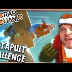 Scrap Mechanic! – CATAPULT CHALLENGE! Vs AshDubh – [#8] | Gameplay |