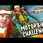 Scrap Mechanic! – MOTORBIKE CHALLENGE! Vs AshDubh – [#11] | Gameplay |