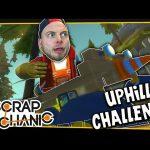 Scrap Mechanic! – MOUNTAIN CLIMB CHALLENGE! Vs AshDubh – [#3] | Gameplay |