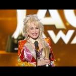 Tex Ritter Award to Dolly Parton