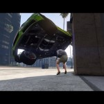 The Luckiest Pedestrian in GTA 5 History – by jair300