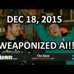 The WAN Show – REGISTER YOUR DRONE! Oh Yeah and Weaponized AI – Dec 18, 2015