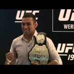 UFC 198: Tickets on Sale Press Conference Staredowns