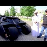 تجربة سريعة سيارة باتمان – حسن كتبي و قناة فالكون  دبي