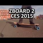 ZBoard 2 Blue Next Gen Electric Skateboard – CES 2015