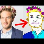 DRAWING TOGETHER WITH FANS! – (Fridays With PewDiePie – Part 103)