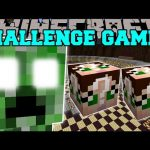 Minecraft: CREEPER TITAN CHALLENGE GAMES – Lucky Block Mod – Modded Mini-Game