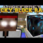 Minecraft: KARATE SCHOOL LUCKY BLOCK RACE – Lucky Block Mod – Modded Mini-Game