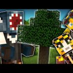 Minecraft – TIME TRAVELLERS! – MY FIRST TREE! #5 W/Stamps & Ash!