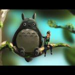 Rubius y totoro – Speed Painting (#Photoshop) | CreativeStation