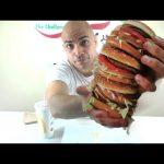 تحدي اكل اكبر برجر عملاقة بيج ماك من ماكدونالدز في اقل من 3 دقائق 5000 سعرة حرارية  |التحدي الأكبر|