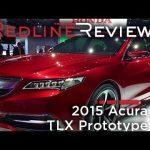 2015 Acura TLX Prototype – Redline: First Look – 2014 Detroit Auto Show