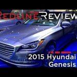 2015 Hyundai Genesis – Redline: First Look – 2014 Detroit Auto Show
