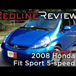 2008 Honda Fit Sport 5-speed Review, Walkaround, Exhaust, & Test Drive