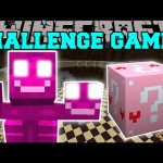 Minecraft: PINK WITHER CHALLENGE GAMES – Lucky Block Mod – Modded Mini-Game