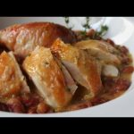 Salt-Roasted Chicken Recipe – Roast Chicken with Thyme Butter Sauce