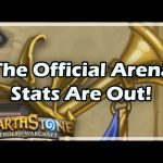 [Hearthstone] The Official Arena Stats Are Out!
