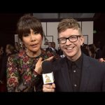 2016 GRAMMY Awards – Tyler is Here with the Queen Herself, Julie Chen