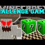 Minecraft: CRUSHROOM CHALLENGE GAMES – Lucky Block Mod – Modded Mini-Game
