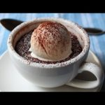 """Minute"" Chocolate Mug Cake – Chocolate Almond Coconut Cake in Less Than 60 Seconds!"