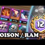 Battle Ram/Poison/Miner | 12 Win Grand Challenge Deck