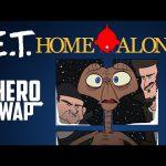 Home Alone Starring E.T. – Hero Swap