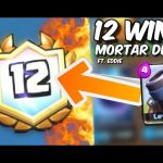 PERFECTING MORTAR PLAY w/ Pro Guest Eddie :: 12 Win Challenge Deck Guide in Clash Royale