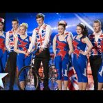 Seven circus performers on one bicycle | Wookey Hole Turbo Jets | Britain's Got Talent 2014