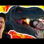 ديناصور هجم علينا!!